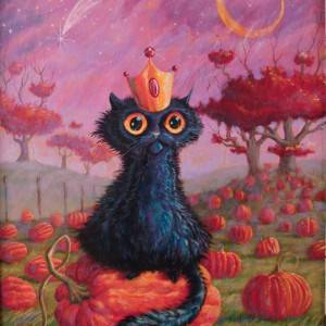 The Prince of Halloween by R. Jason Van Hoose. Other showing Pets/Animals.