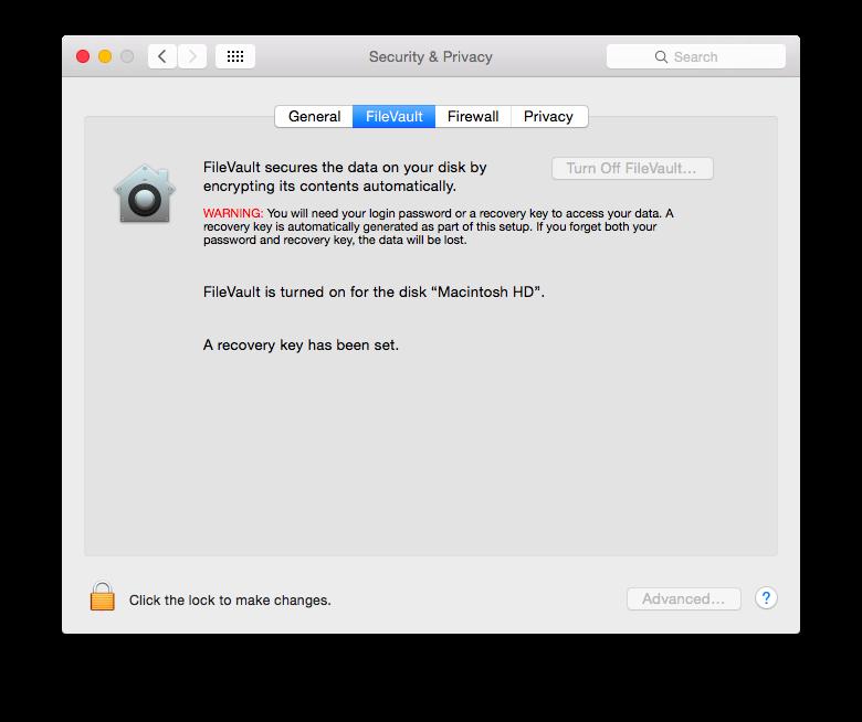 Full Disk Encryption for Mac OS - Paubox