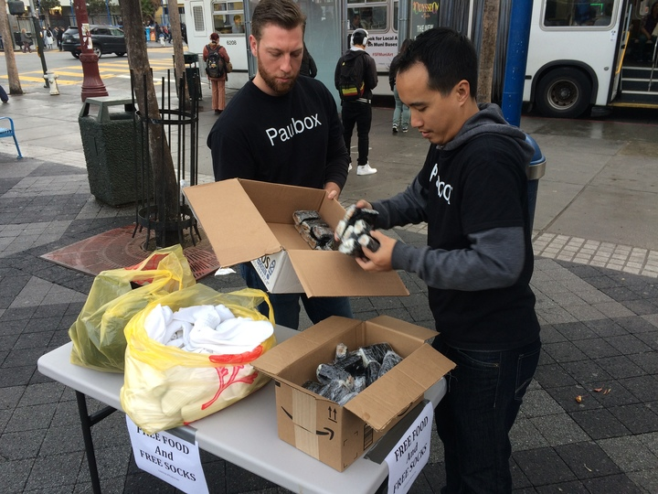Mahalo to the Mission: 100 spam musubi and 100 pairs of socks - Paubox