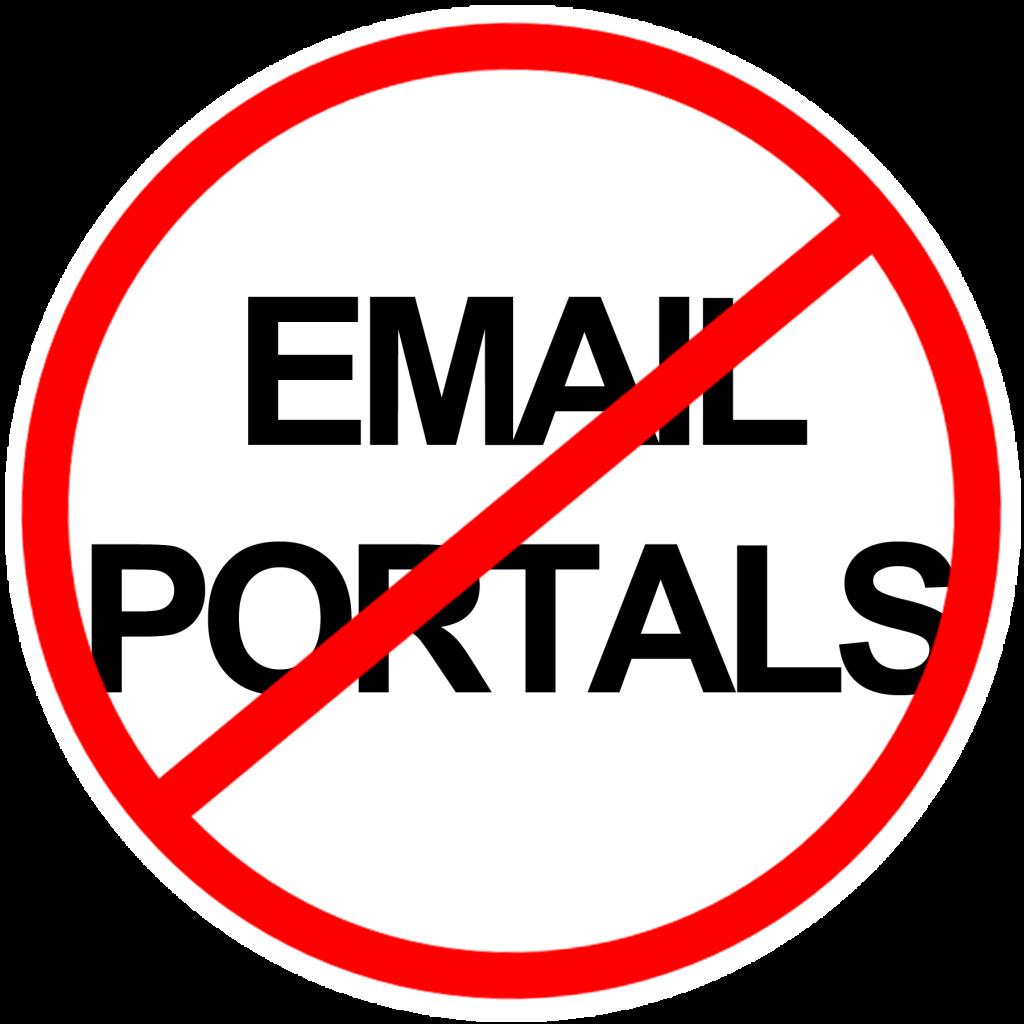 Say No to Email Portals - Paubox