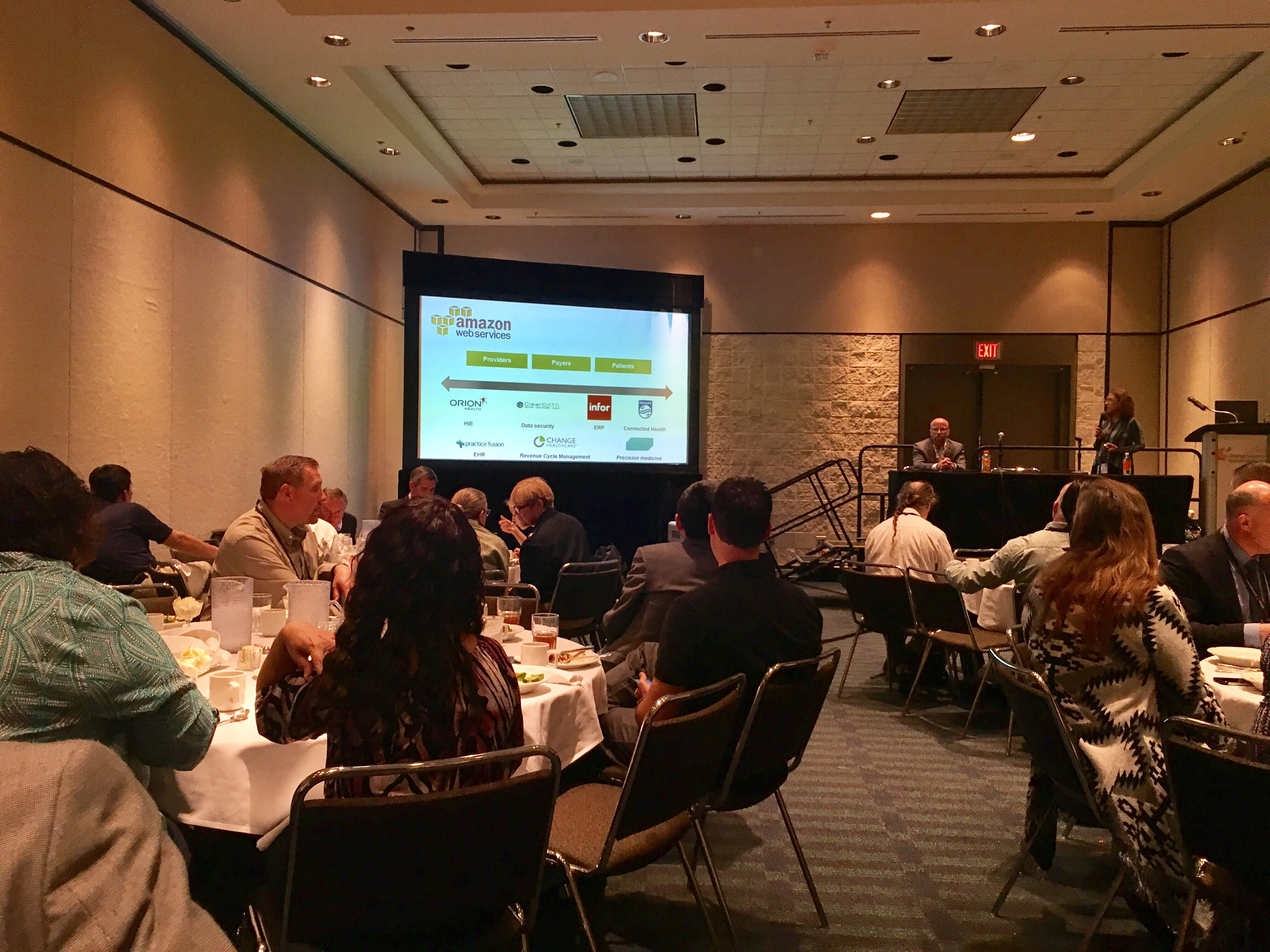 HIMSS17 Lunch and Learn with Amazon Web Services - Paubox