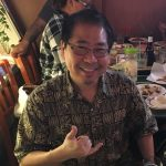 Discussing Email DLP over Dinner with Preston Terada
