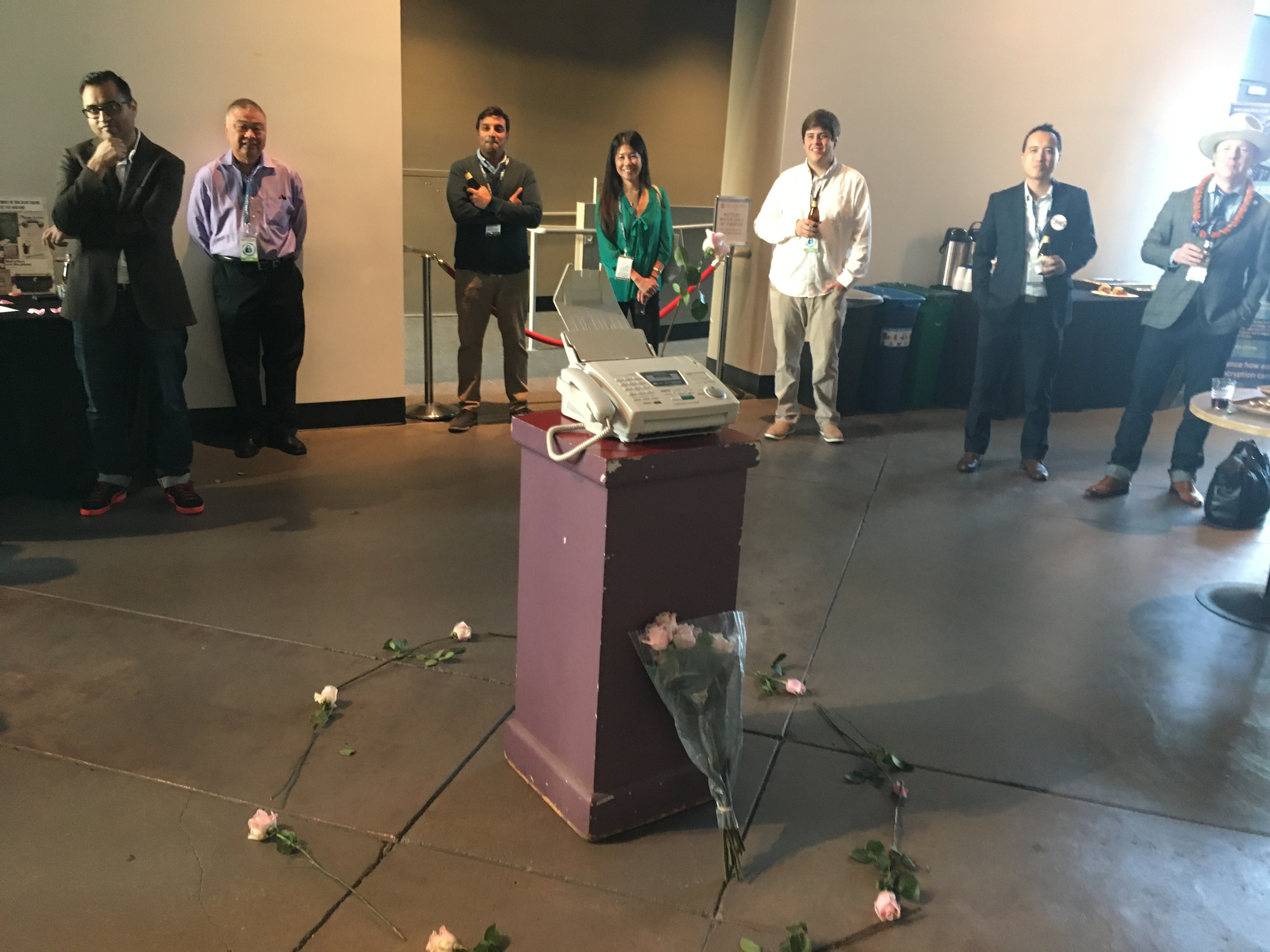 A Wake for the Fax Machine - Paubox SECURE Conference