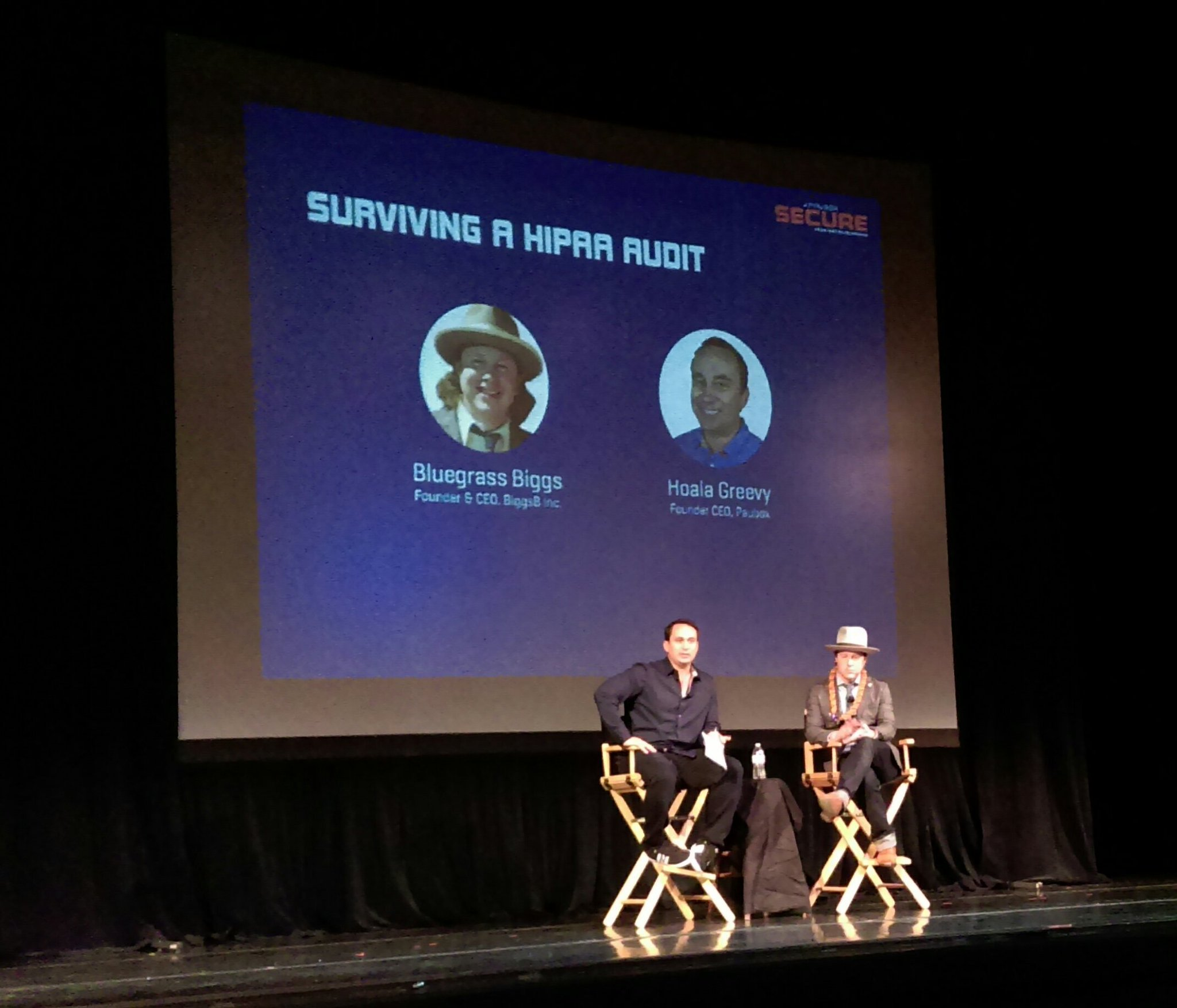 Surviving a HIPAA Audit - A Fireside Chat with Bluegrass Biggs - Paubox SECURE Conference