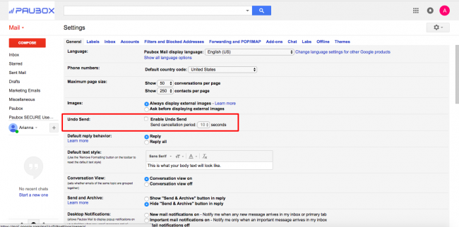 How to Undo A Sent Email in Gmail (With Pictures) – Paubox