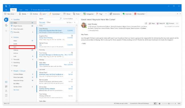 How To Recall An Email >> How To Undo A Sent Email In Microsoft Outlook With Pictures Paubox