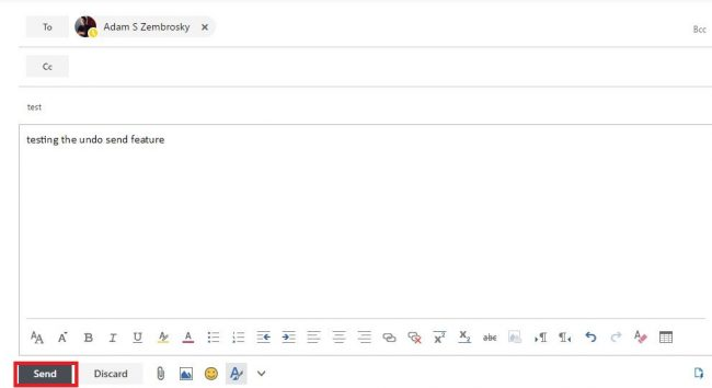 How to Undo A Sent Email in Microsoft Office 365 (With Pictures
