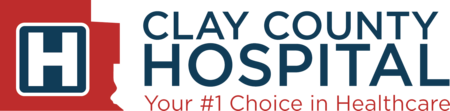 clay county hospital logo