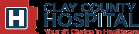 clay county hospital logo