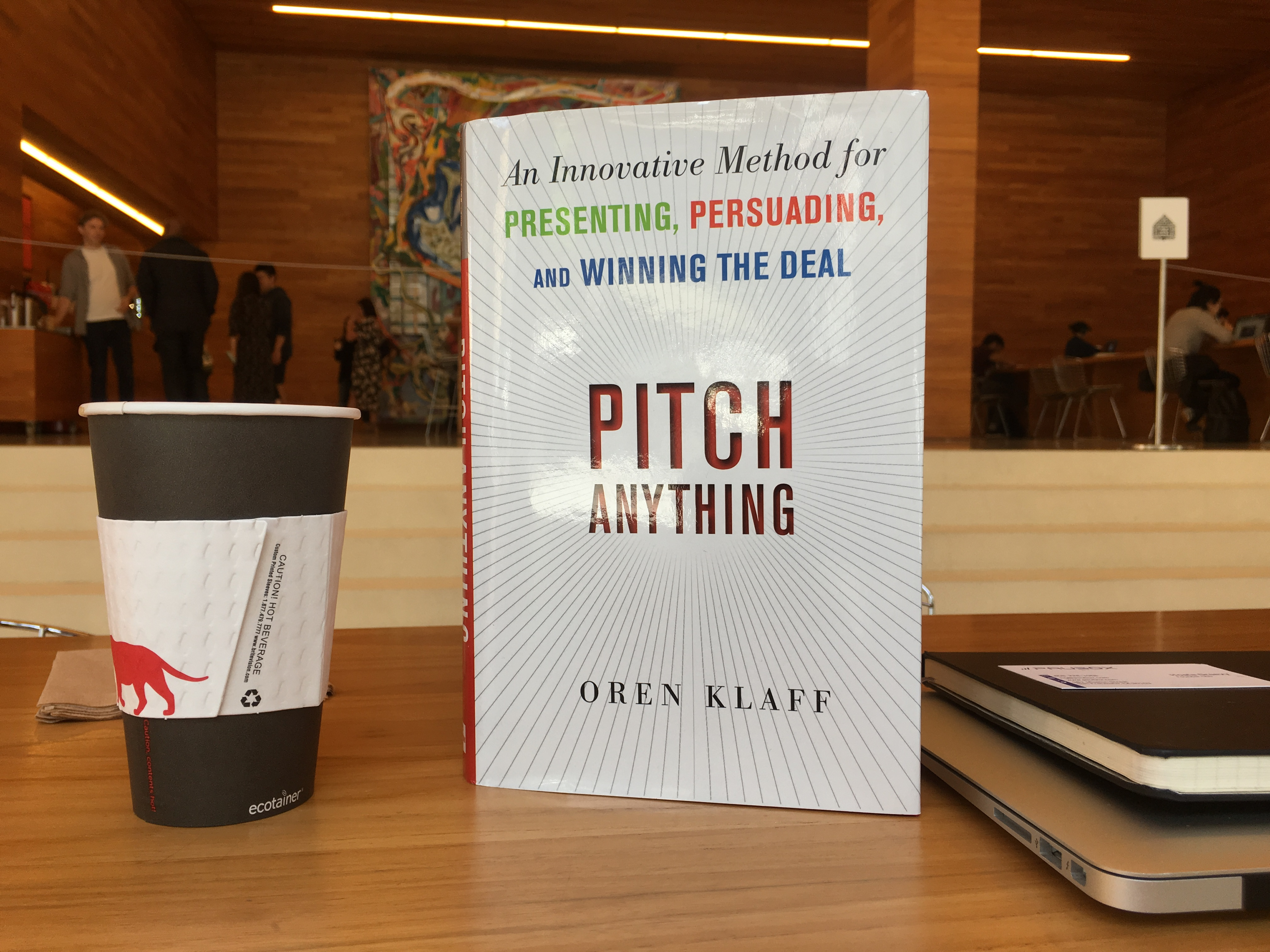 Pitch Anything by Oren Klaff: My Takeaways - Paubox