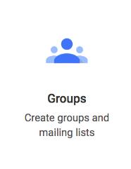 Google Groups icon