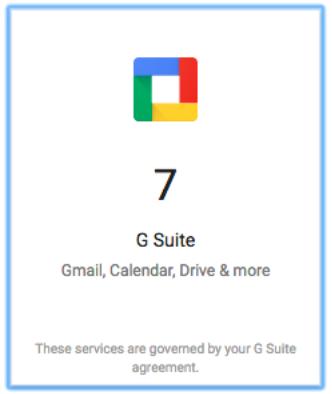 G Suite Box icon