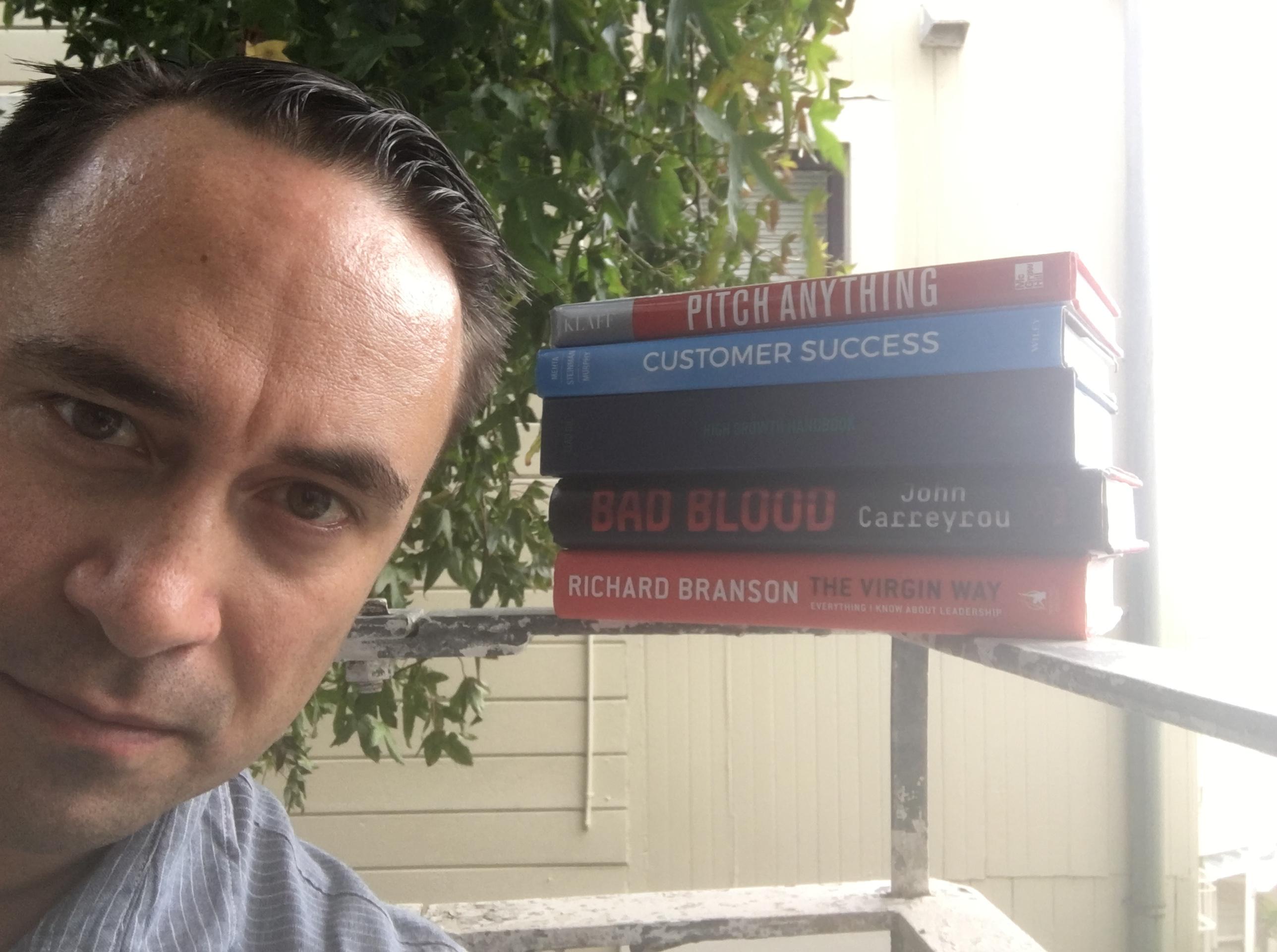 A Startup Founder's Summer Reading List - Paubox