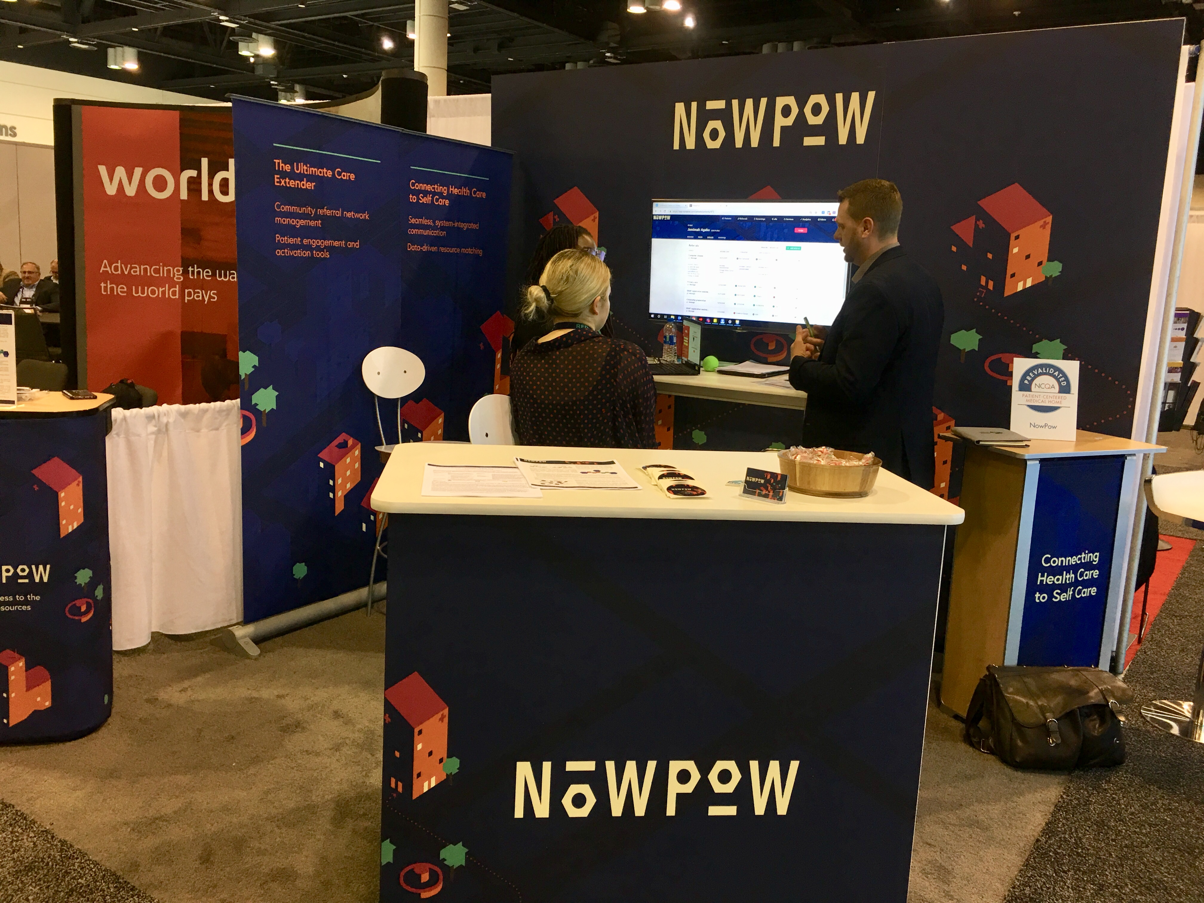 Visiting Customers at HIMSS19 - NowPow