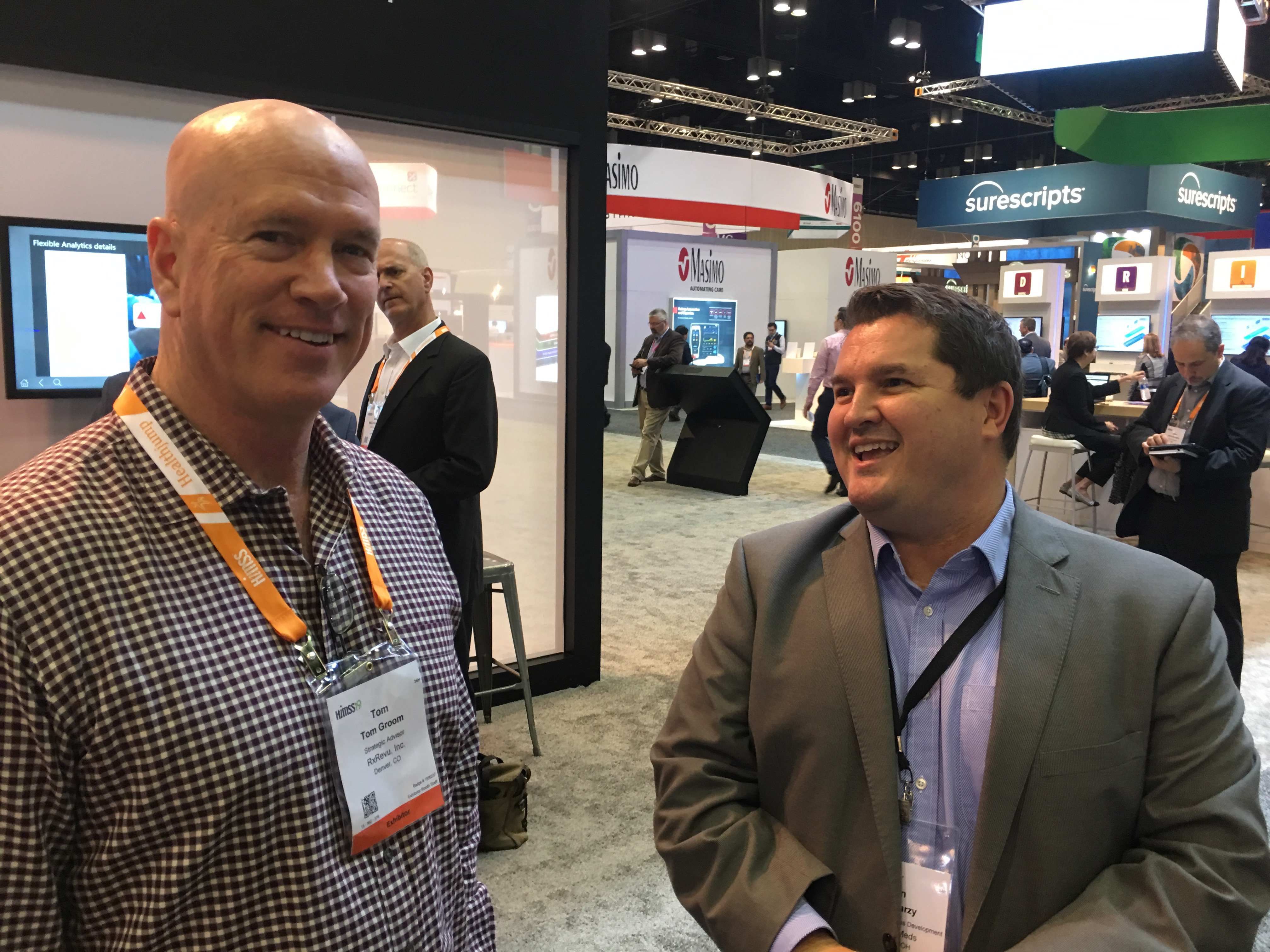 Ryan Tarzy, Tom Groom | HIMSS19 Orlando