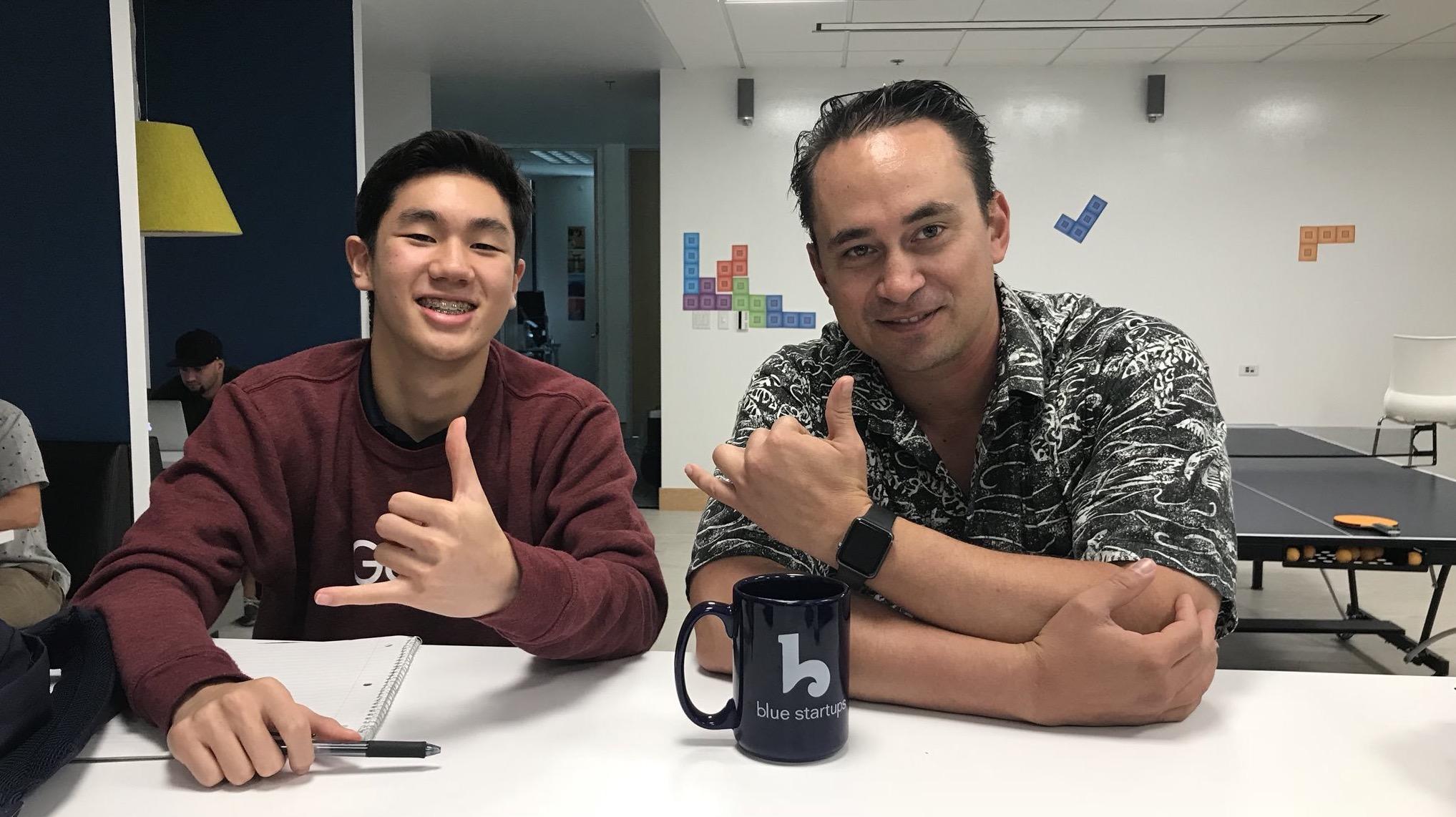 Nick Wong, Hoala Greevy - Paubox Kahikina Scholarship