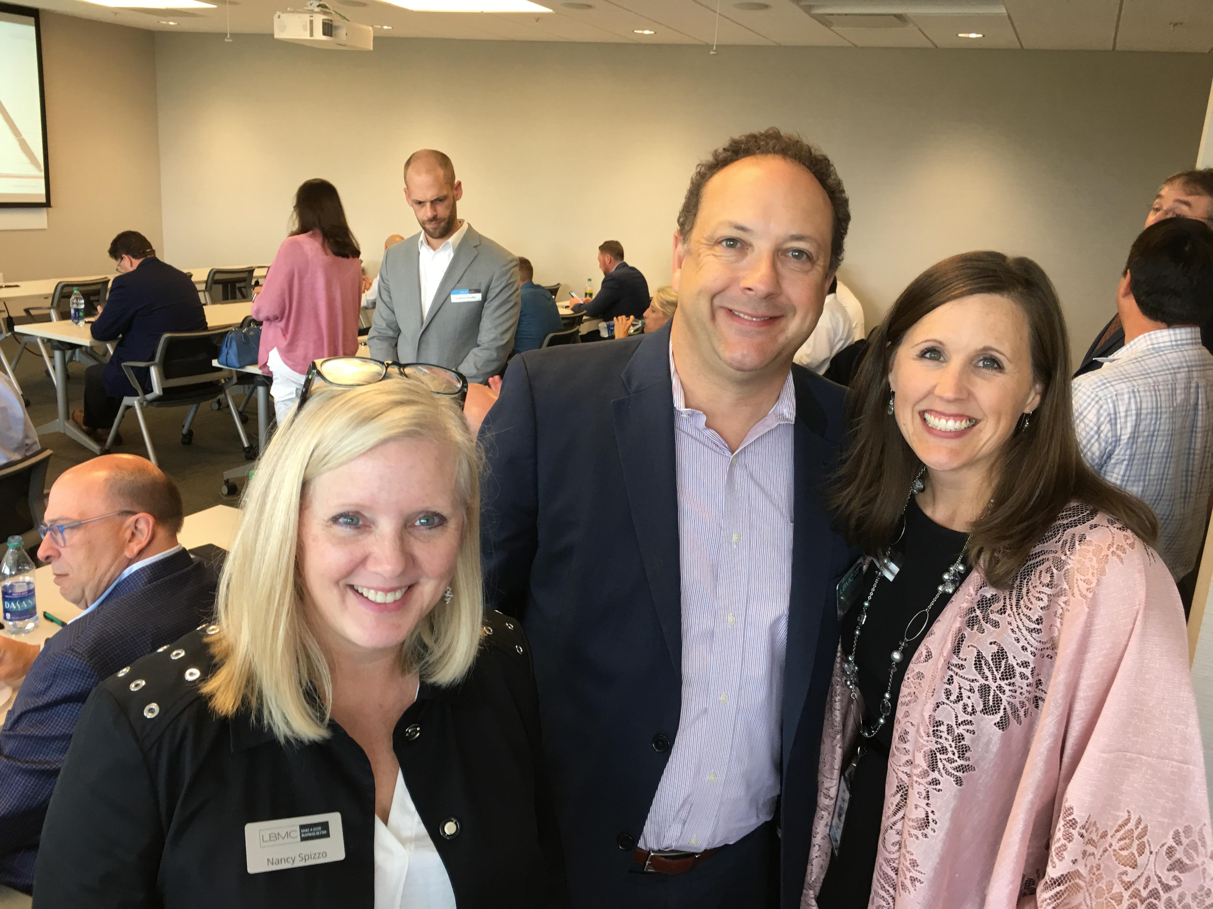 HITRUST Community Extension Program in Nashville - Nancy Spizzo, Ashley Barton, Robyn Barton