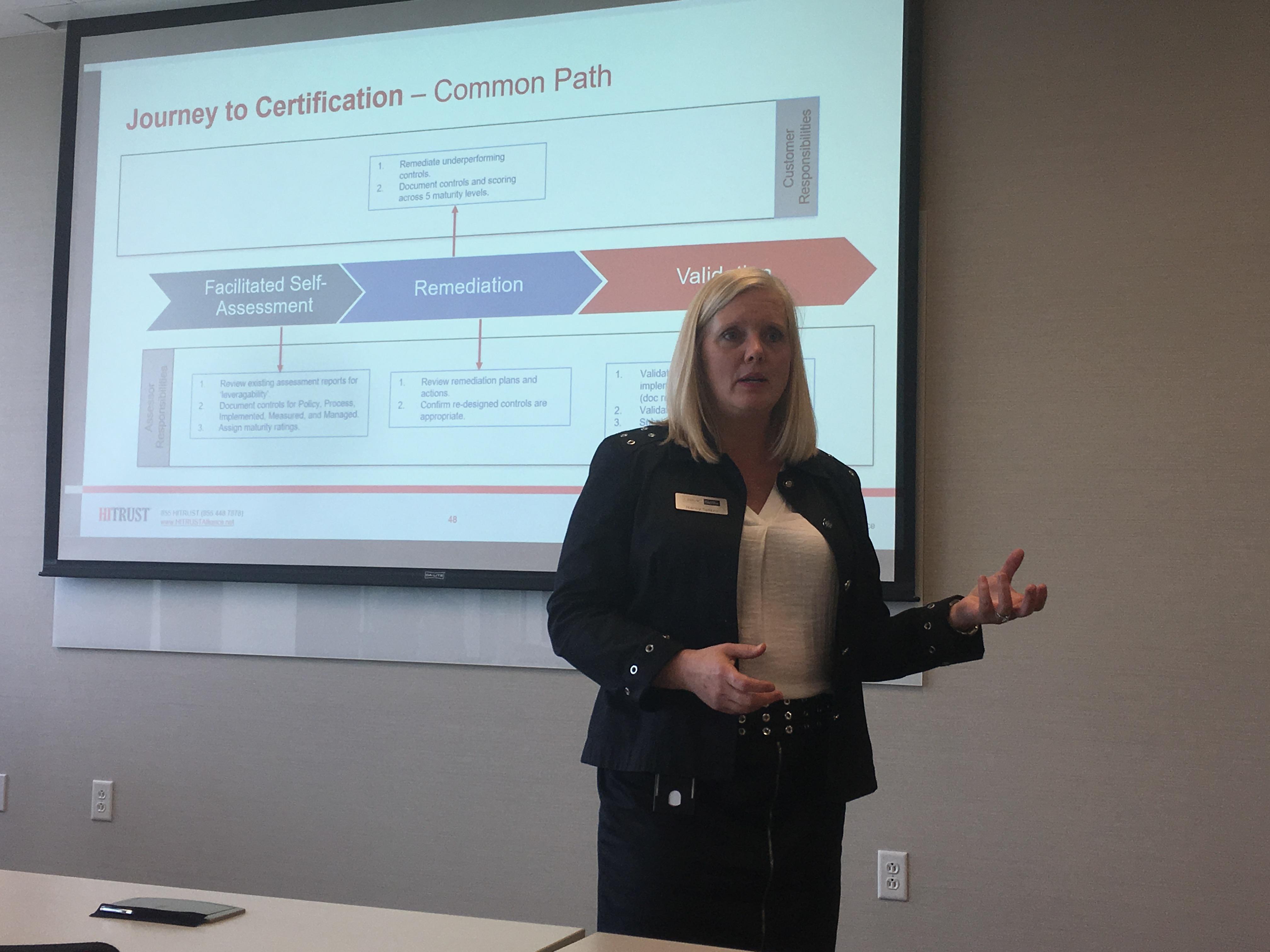 HITRUST Community Extension Program (CEP) in Nashville - Nancy Spizzo (LBMC)