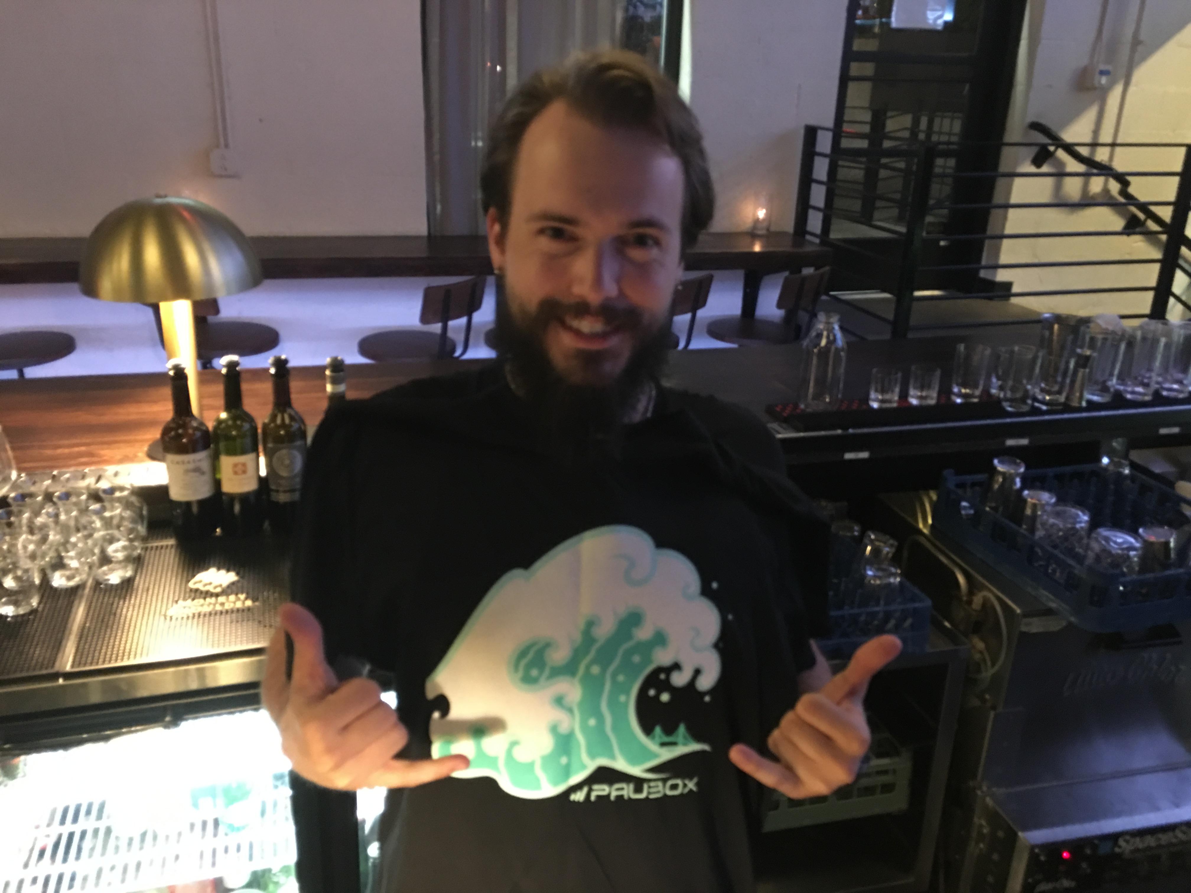 Nashville Social Mixer at 404 Kitchen - Our bartender Cameron took care of us
