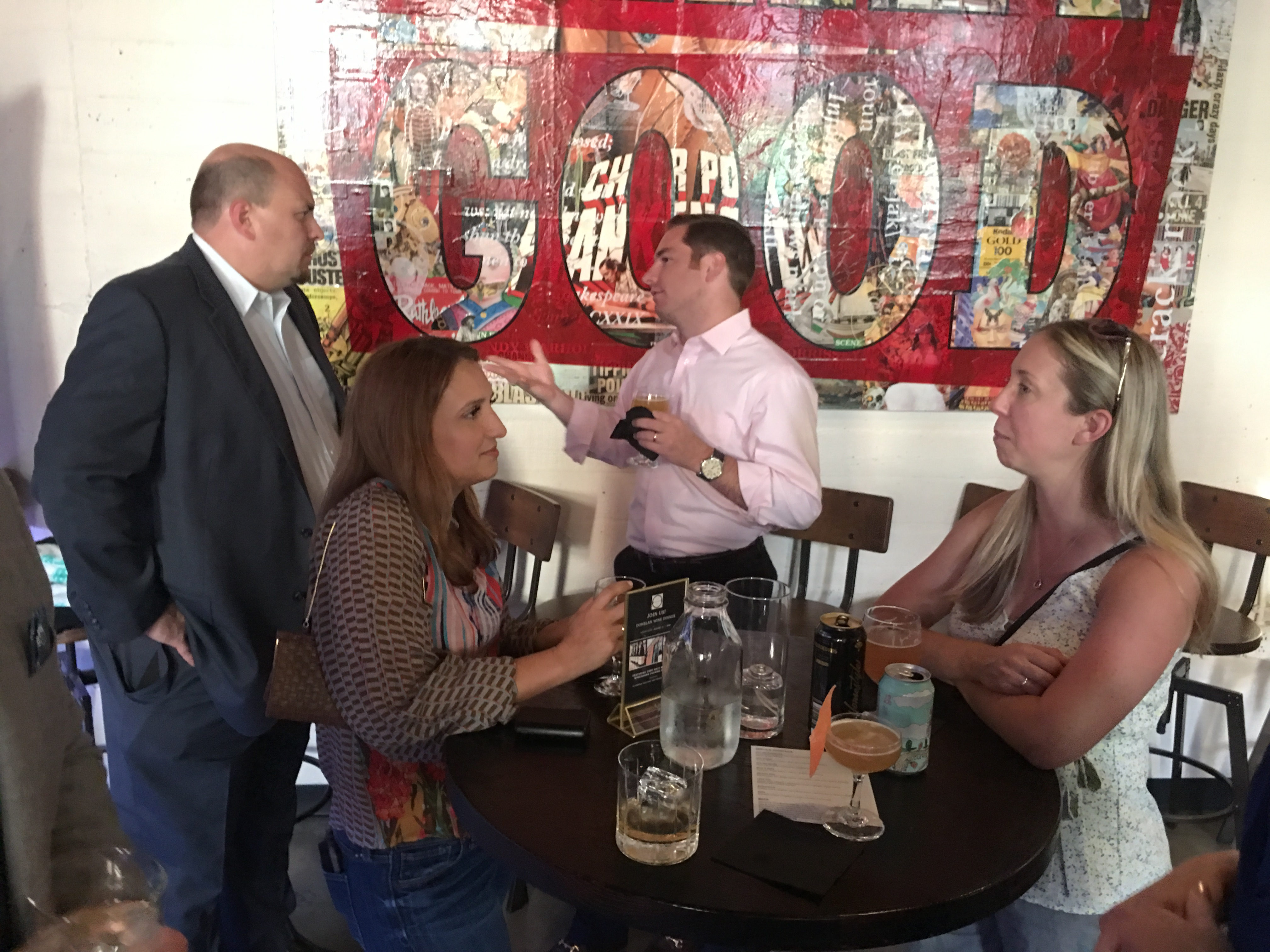 Nashville Social Mixer at 404 Kitchen - Casey McKeon