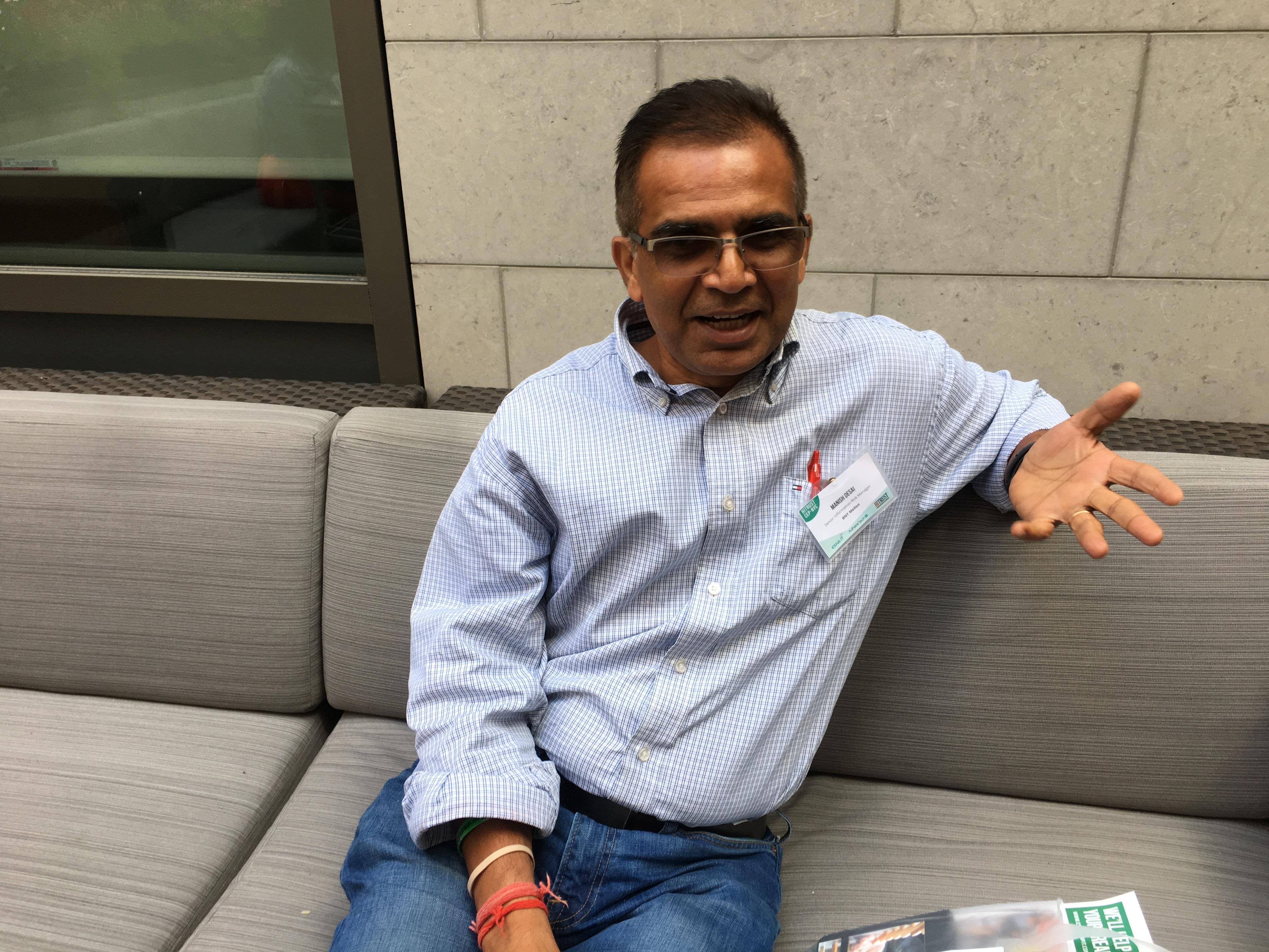 Manish Desai - BNY Mellon