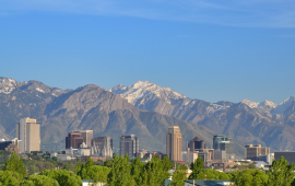 Scenic view of Utah where Paubox is opening an office