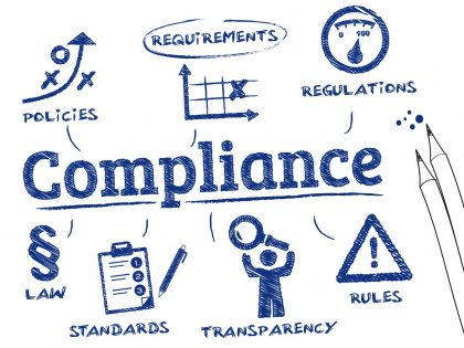 HIPAA compliance sketch showing complex regulations for email marketing