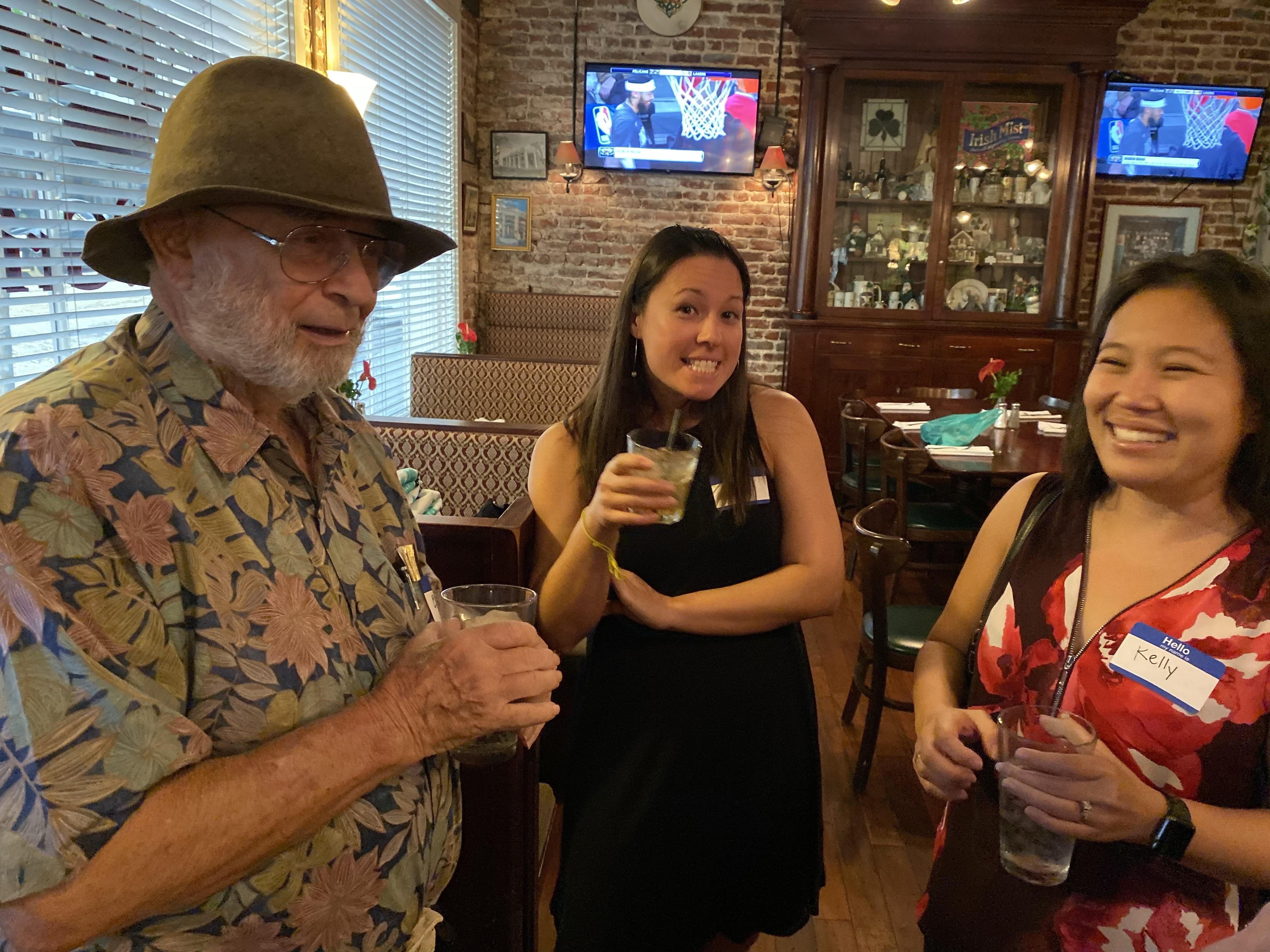 Ed Greevy, Lisa Lerud, Kelly