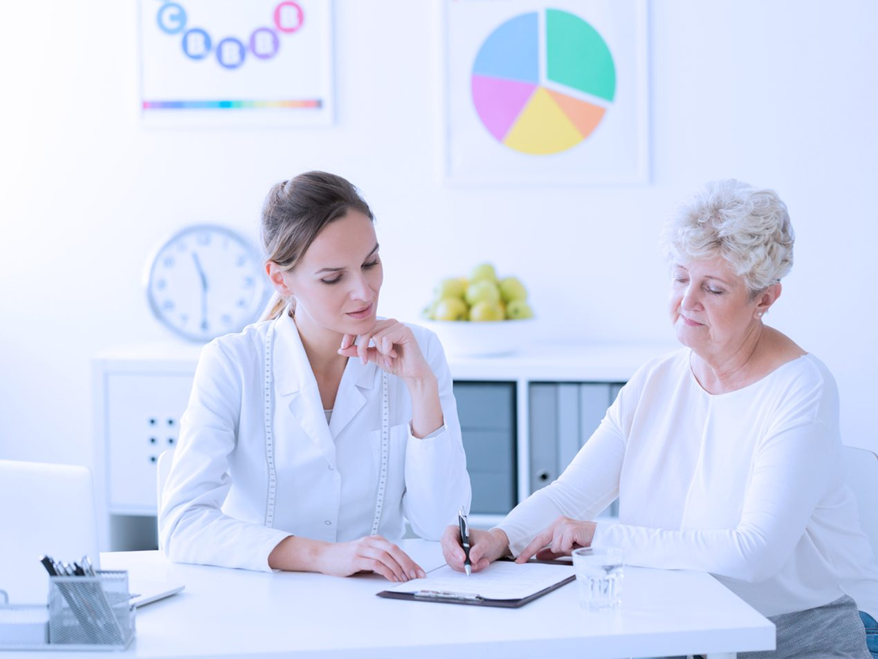 patient filling out personally identifiable information in form, need hipaa protection