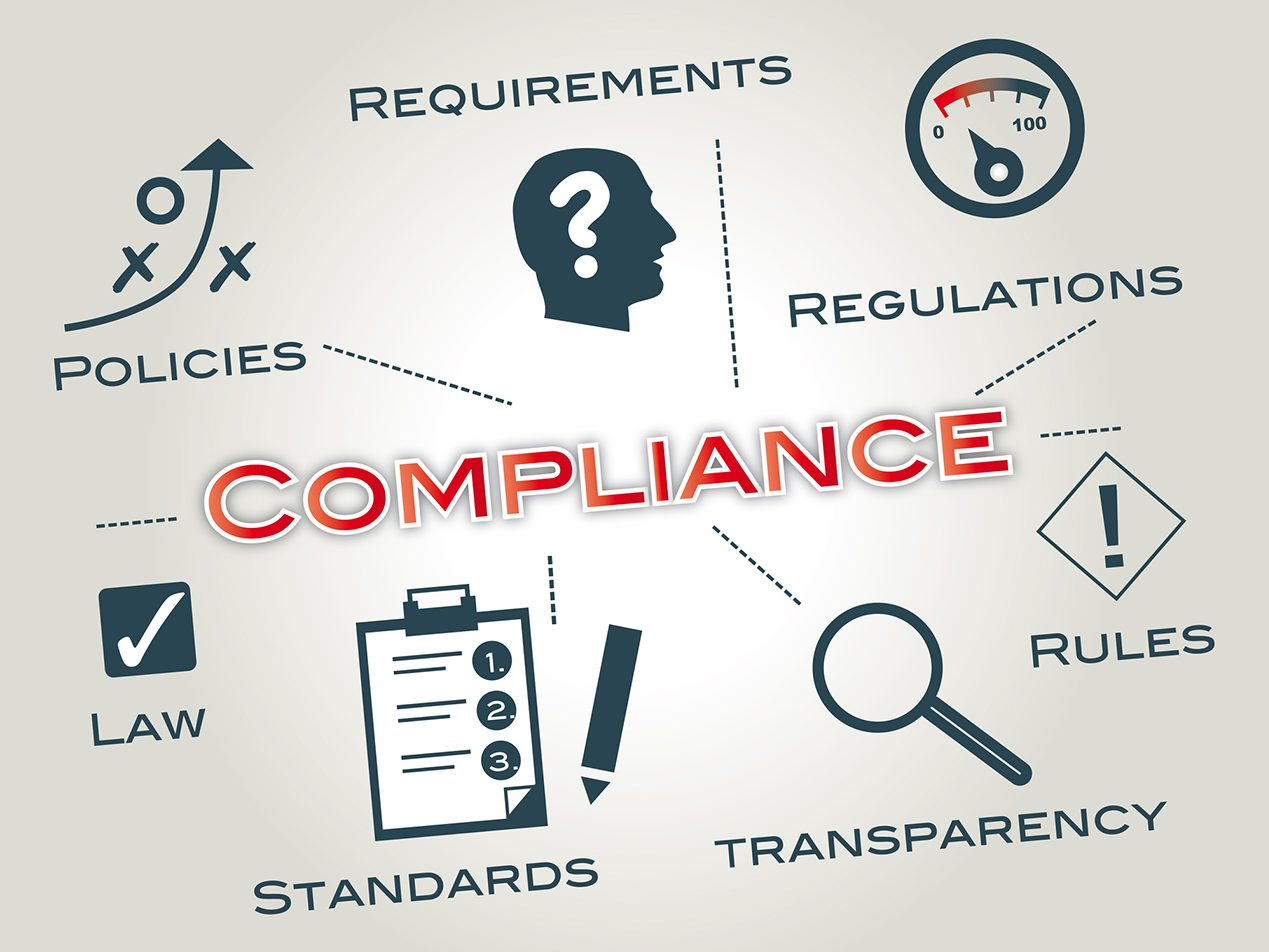 healthcare orgs not staying hipaa compliant illustration