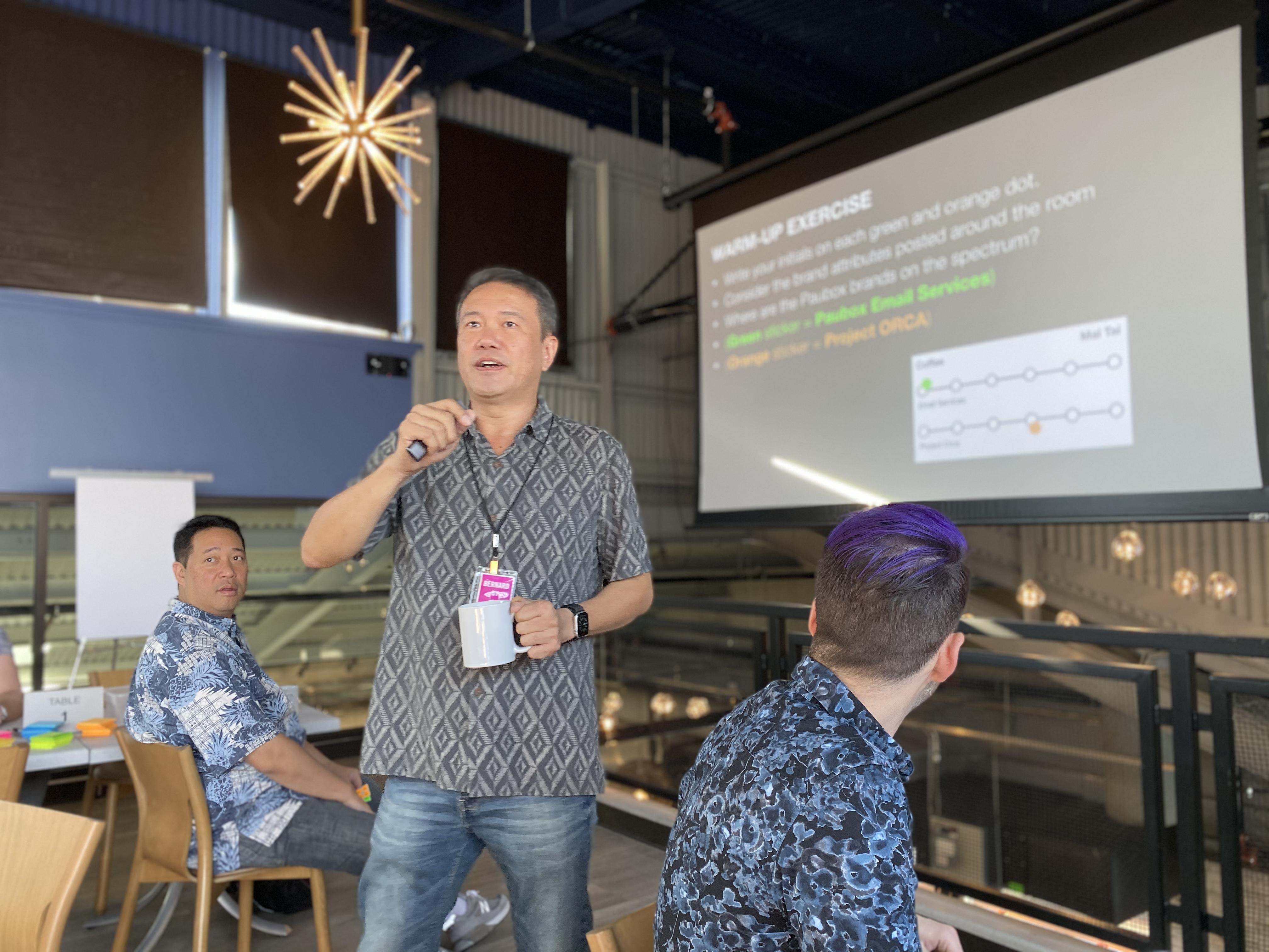 Brand Workshop with Wall-to-Wall Studios at Hana Koa Brewing - Bernard Uy