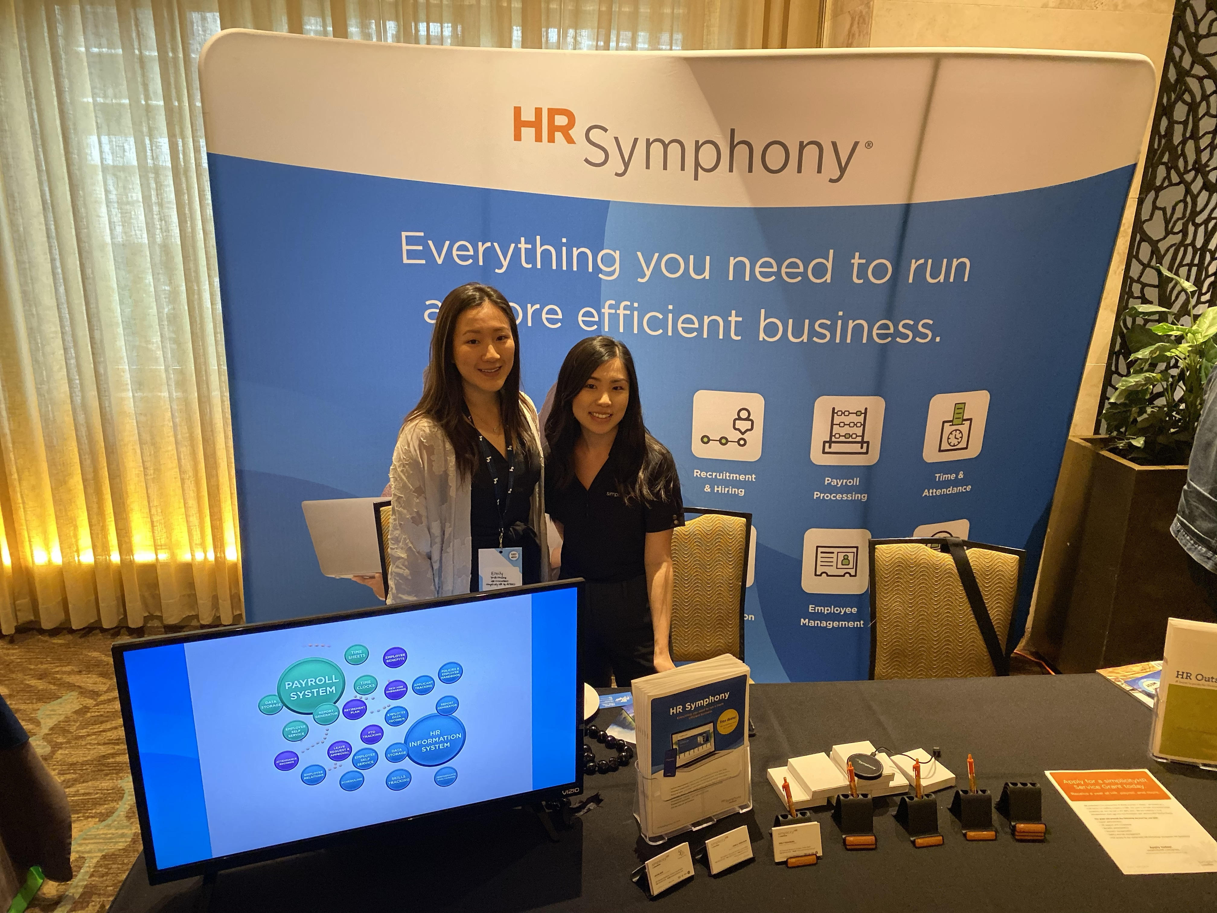 East Meets West 2020: HR Symphony booth