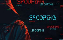 hacker ready to use a spoofing attack