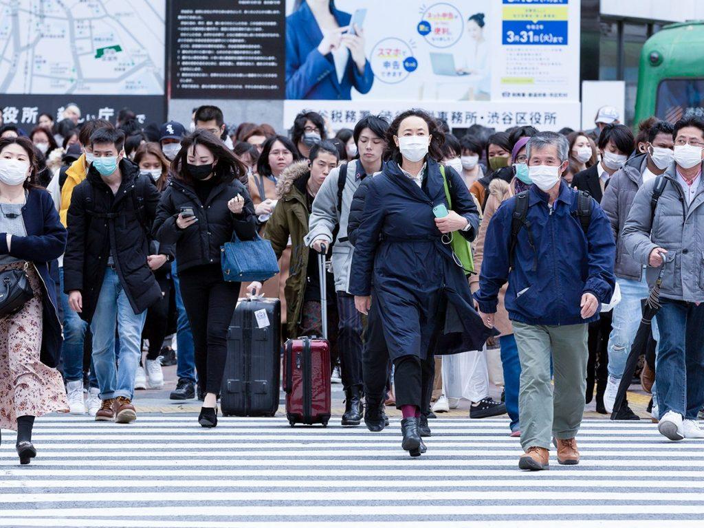 People wearing masks prevent coronavirus