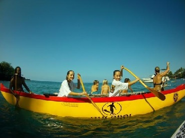 Hawaiian Outrigger Canoe Adventure image 6