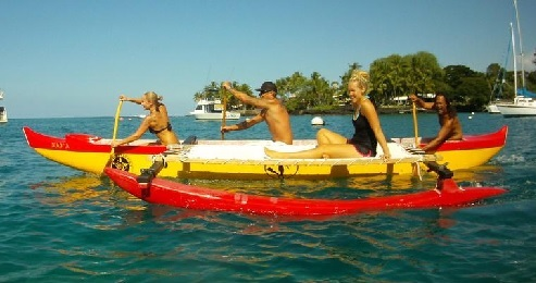 Hawaiian Outrigger Canoe Adventure