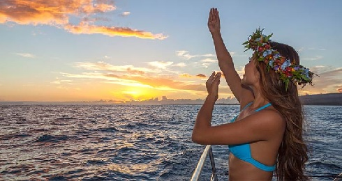 Product Napali Sunset Cruise