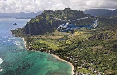 Blue Skies of Oahu Helicopter Tour image 3