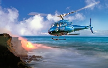 Circle of Fire 50 Min Helicopter Tour
