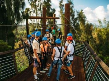 Product Keana Farms Zipline Tour