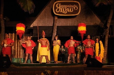 Germaine's Luau Hibiscus Package