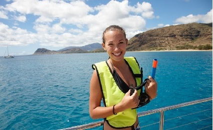 Product West Oahu Morning Dolphin Snorkel