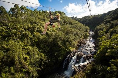 Product Zipline Through Paradise Adventure