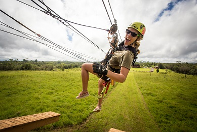 Zipline Through Paradise Adventure