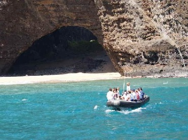 Na Pali Coast Raft Adventure Tour