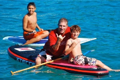 Product Keahou Stand Up Paddle Lesson
