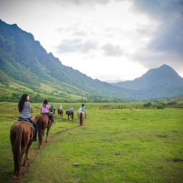 Kualoa Horseback Ride image 1
