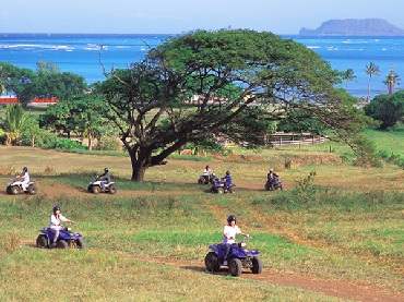 Kualoa Ranch 2HR ATV Ride