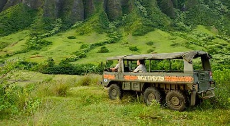 Product Kualoa Jungle Expedition Experience