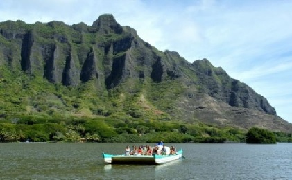 Product Kualoa Ranch Ocean Voyage Tour